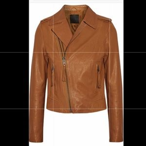 NWT Joie Ailey Leather Jacket Size Small